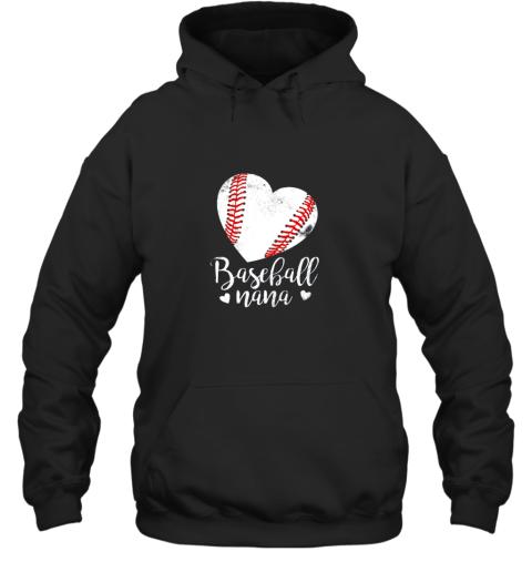 Funny Baseball Nana Shirt Gift For Men Women Hoodie