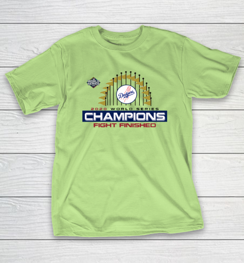 MLB Los Angeles Dodgers World Series Champions 2020 T-Shirt 6