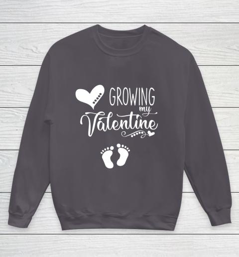 Growing my Valentine Tshirt for Wife Youth Sweatshirt 5