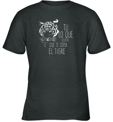 ckof tigres dominican baseball spanish espanol cool youth t shirt 26 front dark heather