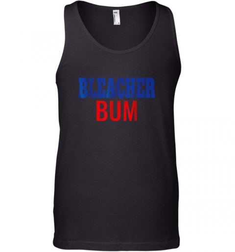 Bleacher Bum Original Chicago Baseball Distressed Tank Top