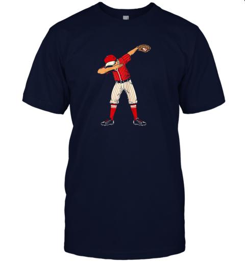 lo1e dabbing baseball catcher gift shirt kids men boys bzr jersey t shirt 60 front navy