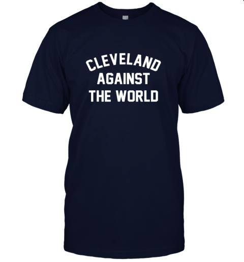 k3xs cleveland against the world football baseball basketball jersey t shirt 60 front navy