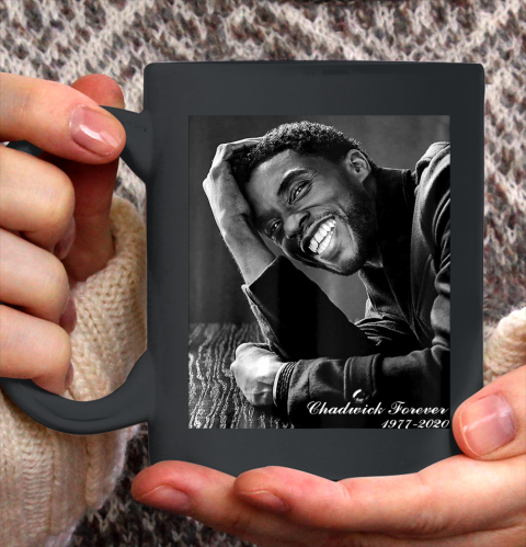 RIP Boseman Forever 1977  2020 Ceramic Mug 11oz