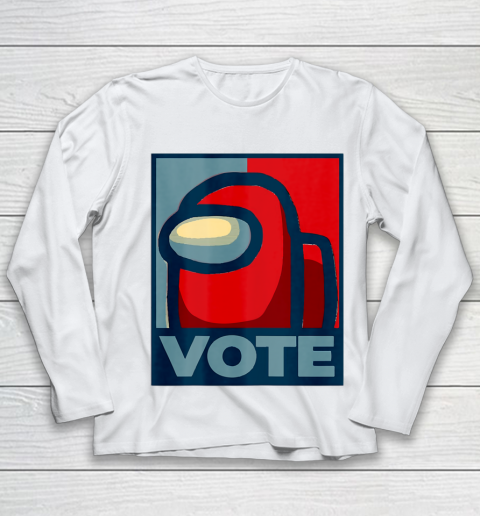 Who is the Impostor neu Among with us start the vote Youth Long Sleeve 2
