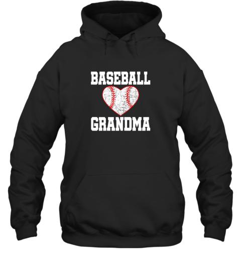 Vintage Baseball Grandma Funny Gift Hoodie