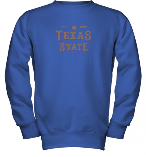 nwzp texas state bobcats womens college ncaa youth sweatshirt 47 front royal