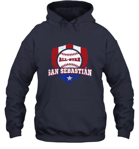 v2ag san sebastian puerto rico puerto rican pr baseball hoodie 23 front navy