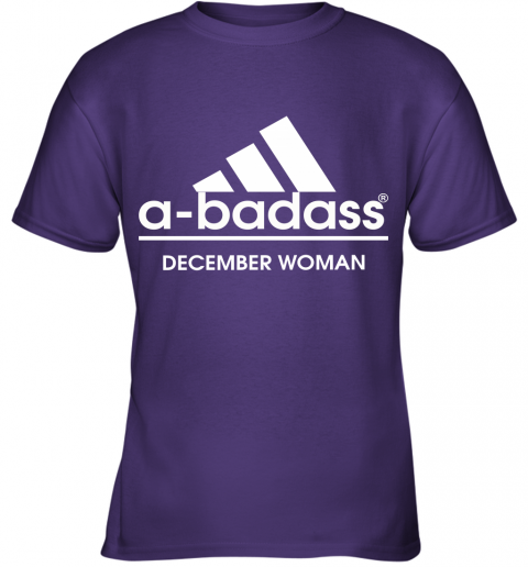 A Badass December Women Are Born In March Youth T-Shirt