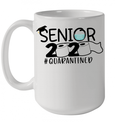 Senior 2020 Quarantine Ceramic Mug 15oz