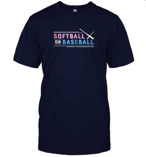 b0vz softball or baseball shirt sports gender reveal jersey t shirt 60 front navy