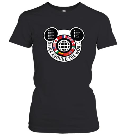 Drink Around the World EPCOT Checklist Women's T-Shirt