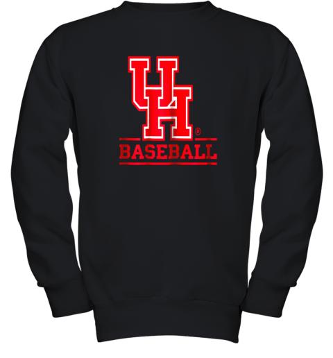 University of Houston Cougars Baseball Shirt Youth Sweatshirt