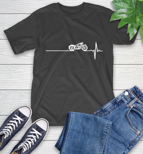 Motorcycle This Is How My Heart Beats T-Shirt