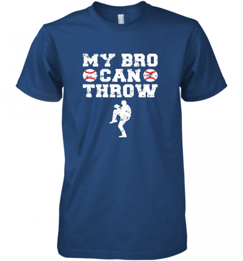 w8jn kids cute baseball brother sister funny shirt cool gift pitcher premium guys tee 5 front royal