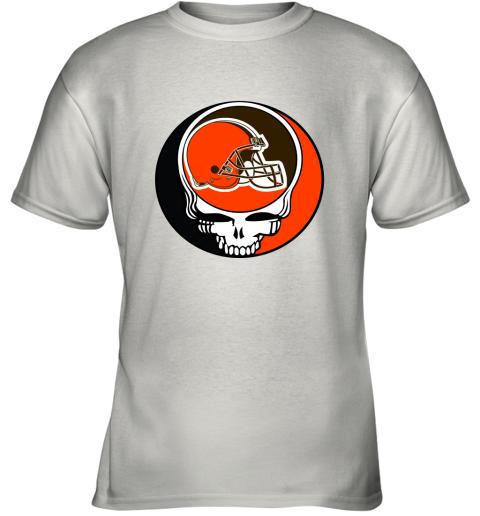 NFL Team Cleveland Browns x Grateful Dead Logo Band Youth T-Shirt