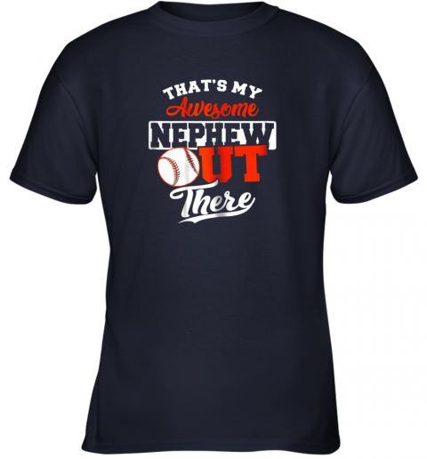 9bt6 that39 s my awesome grandson out there baseball youth t shirt 26 front navy