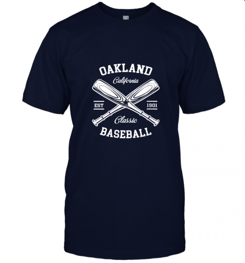 9pqv oakland baseball classic vintage california retro fans gift jersey t shirt 60 front navy