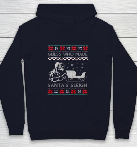 Ugly Christmas Welder Tee Funny Xmas Pajamas Gifts Welders Youth Hoodie 2