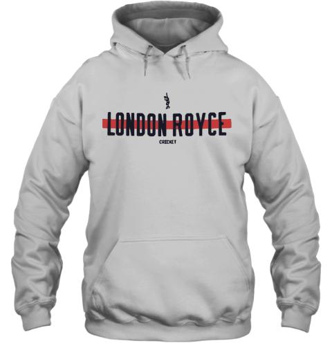 London Royce Cricket Baseball Line Hoodie