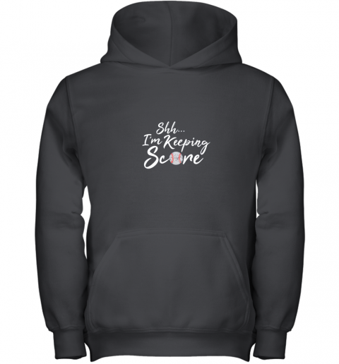 Scorekeeper Baseball Team Scorebook Keeper Youth Hoodie