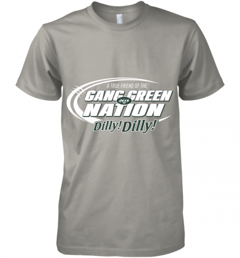 uiay a true friend of the gang green nation premium guys tee 5 front light grey