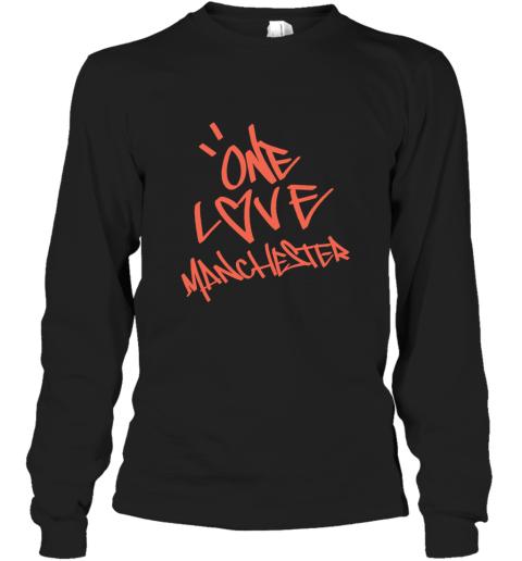 ARIANA GRANDE  ONE LOVE MANCHESTER Long Sleeve T-Shirt