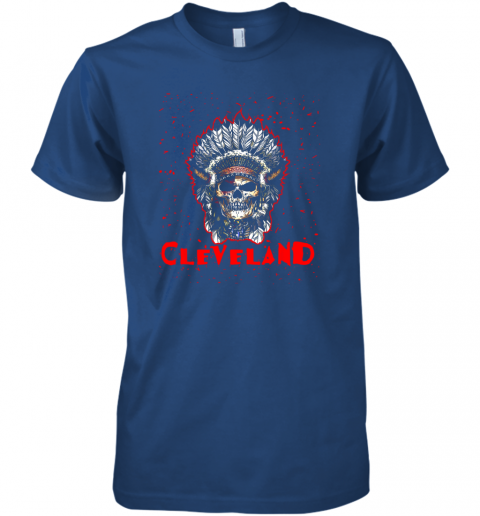 14oe cleveland hometown indian tribe vintage baseball fan awesome premium guys tee 5 front royal