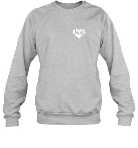 l9mw vintage cleveland baseball sweatshirt ohio cle sweatshirt 35 front sport grey