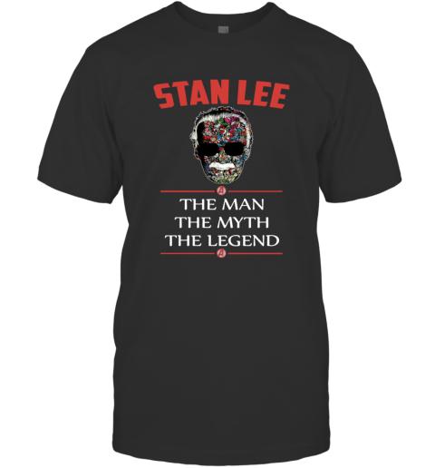 Super Hero Marvel Stan Lee Thanks for the Memories T-Shirt