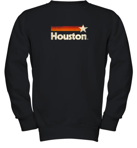 Houston Texas Shirt Houston Strong Shirt Vintage Stripes Youth Sweatshirt