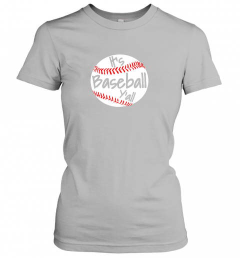 0wmi it39 s baseball y39 all shirt funny pitcher catcher mom dad gift ladies t shirt 20 front sport grey