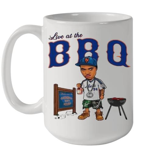 Live At The BBQ Ceramic Mug 15oz