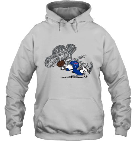 Buffalo BIlls Snoopy Plays The Football Game Hoodie