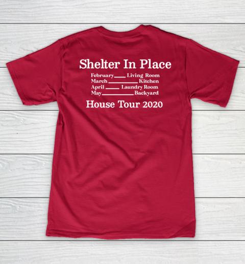 Peter Frampton Covid Stays Inside V-Neck T-Shirt 14