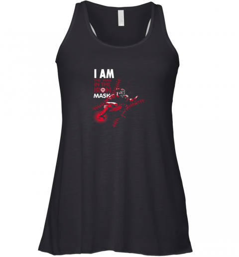 I Am The Man In The Iron Mask Baseball Catcher Racerback Tank