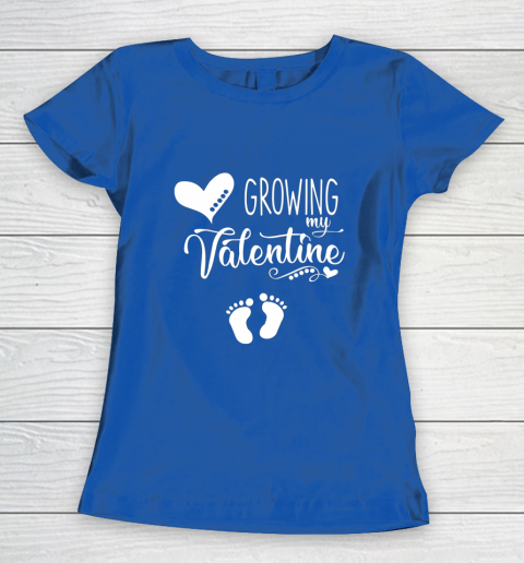 Growing my Valentine Tshirt for Wife Women's T-Shirt 8
