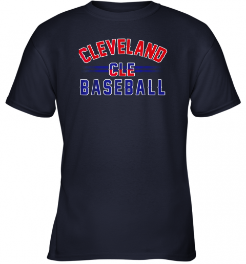 j0t5 cleveland cle baseball youth t shirt 26 front navy