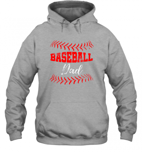 xt3q mens baseball inspired dad fathers day hoodie 23 front sport grey