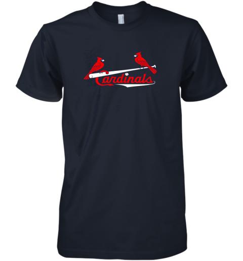 my5k cardinal sports shirtst louis baseball fan premium guys tee 5 front midnight navy