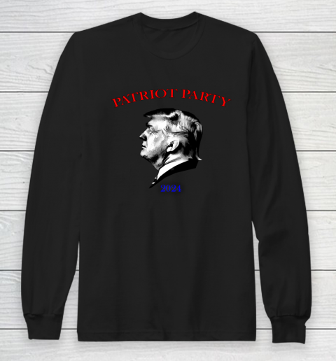 Patriot Party Trump 2024 Long Sleeve T-Shirt 9
