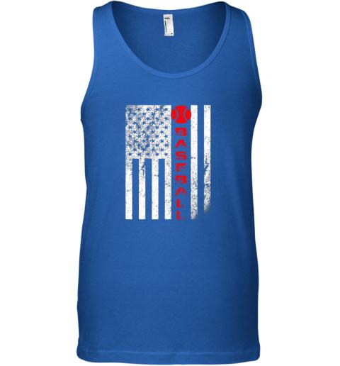 sytt usa red whitevintage american flag baseball gift unisex tank 17 front royal