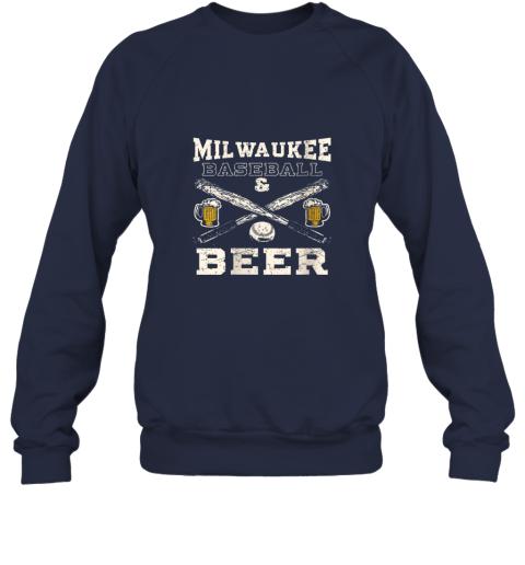 zmgw love milwaukee love baseball sweatshirt 35 front navy