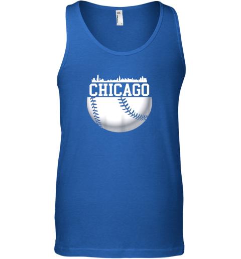 utc4 vintage downtown chicago shirt baseball retro illinois state unisex tank 17 front royal