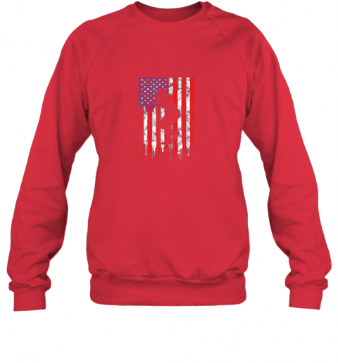 pjrv vintage patriotic american flag baseball shirt usa sweatshirt 35 front red