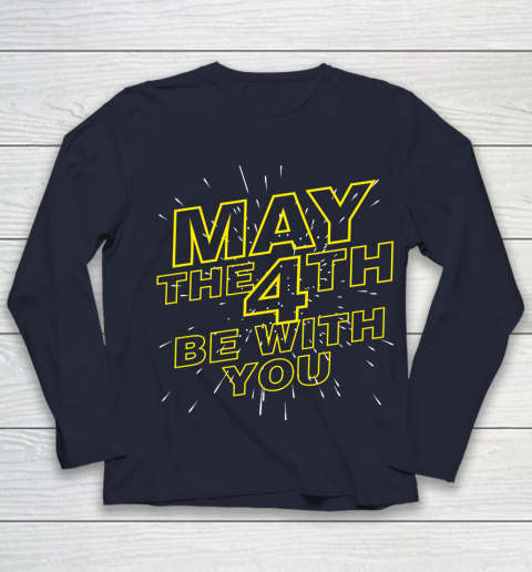 May the 4th be with you Star Wars Youth Long Sleeve 2