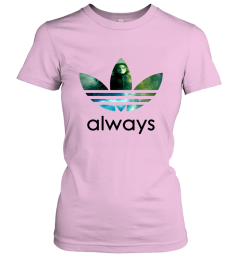 x4vk adidas severus snape always harry potter shirts ladies t shirt 20 front light pink