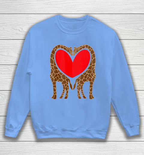 Cute Giraffe TShirt Fun Valentine Gift for Giraffe Lovers Sweatshirt 8