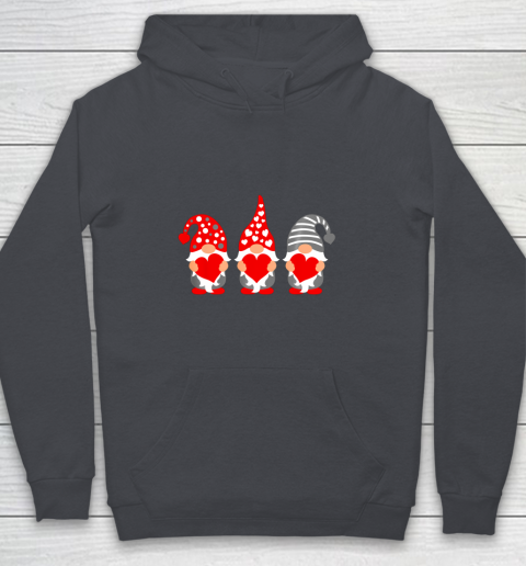 Gnomes Hearts Valentine Day Shirts For Couple Youth Hoodie 5