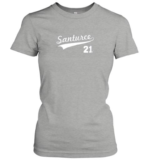 t4zt vintage santurce 21 puerto rico baseball ladies t shirt 20 front ash